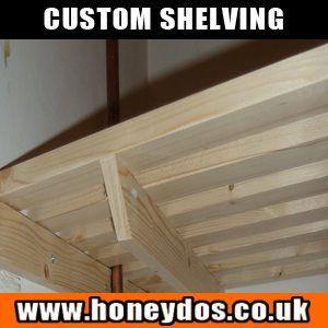 Airing Cupboard Shelves - Custom Shelving - Storage
